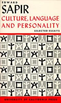 Culture, Language and Personality: Selected Essays (Paperback)