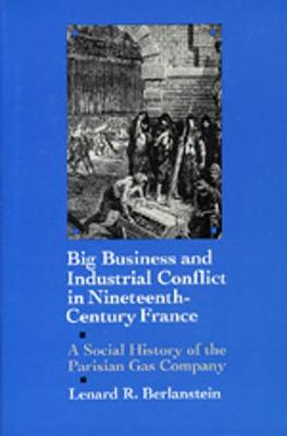 Big Business and Industrial Conflict in Nineteenth-Century France: A Social History of the Parisian Gas Company (Hardback)