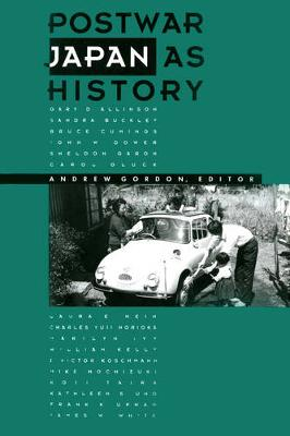 Postwar Japan as History (Paperback)