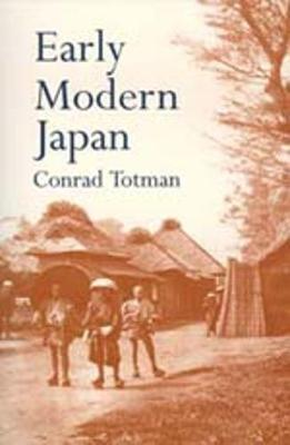Early Modern Japan (Paperback)
