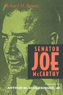 Senator Joe McCarthy (Paperback)