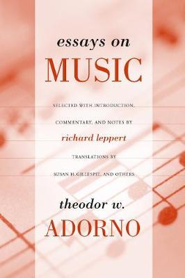 Essays on Music (Paperback)