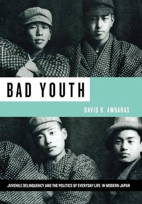 Bad Youth: Juvenile Delinquency and the Politics of Everyday Life in Modern Japan (Hardback)