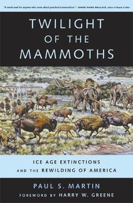 Twilight of the Mammoths:: Ice Age Extinctions and the Rewilding of America - Organisms and Environments 8 (Paperback)