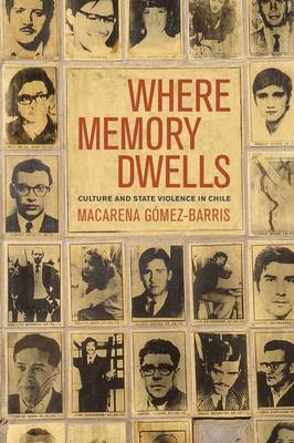 Where Memory Dwells: Culture and State Violence in Chile (Hardback)