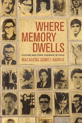 Where Memory Dwells: Culture and State Violence in Chile (Paperback)