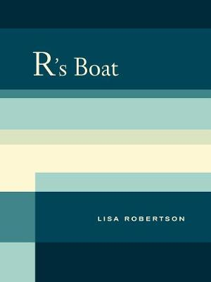 R's Boat - New California Poetry 28 (Paperback)