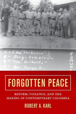 Forgotten Peace: Reform, Violence, and the Making of Contemporary Colombia - Violence in Latin American History 3 (Hardback)