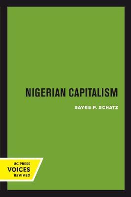 Nigerian Capitalism (Paperback)