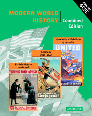 Modern World History Combined edition - Cambridge History Programme Key Stage 4 (Paperback)
