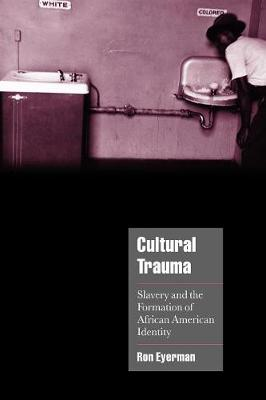 Cultural Trauma: Slavery and the Formation of African American Identity - Cambridge Cultural Social Studies (Paperback)