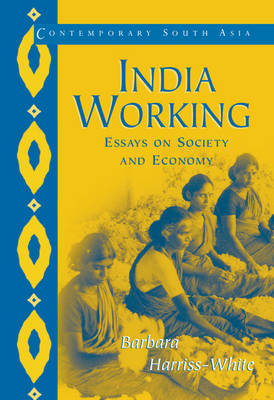 India Working: Essays on Society and Economy - Contemporary South Asia 8 (Paperback)