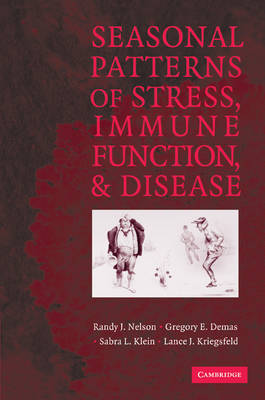 Seasonal Patterns of Stress, Immune Function, and Disease (Paperback)
