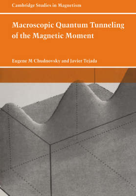 Macroscopic Quantum Tunneling of the Magnetic Moment - Cambridge Studies in Magnetism (Paperback)