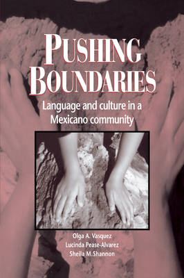 Pushing Boundaries: Language and Culture in a Mexicano Community (Paperback)