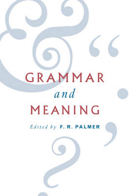 Grammar and Meaning: Essays in Honour of Sir John Lyons (Paperback)