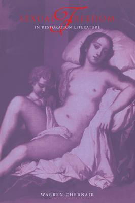 Sexual Freedom in Restoration Literature (Paperback)