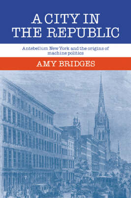 A City in the Republic: Antebellum New York and the Origins of Machine Politics (Paperback)