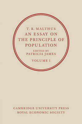 malthus an essay on the principle of population second edition Otter later wrote a memoir of malthus for the second (1836) edition of his principles of political conceptual origins of malthus's essay on population.
