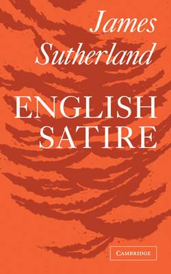 English Satire (Paperback)