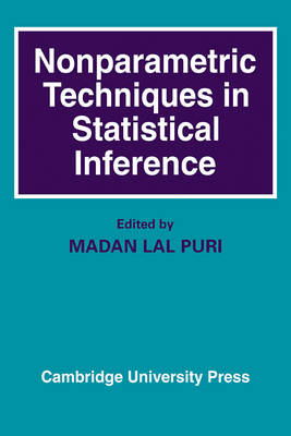 Nonparametric Techniques in Statistical Inference (Paperback)
