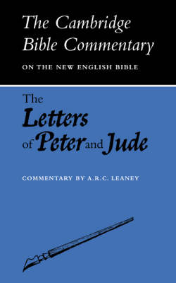 The Letters of Peter and Jude - Cambridge Bible Commentaries: New Testament 17 Volume Paperback Set (Paperback)