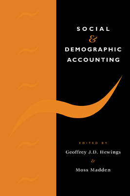 Social and Demographic Accounting (Paperback)