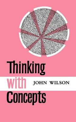 Thinking with Concepts (Paperback)