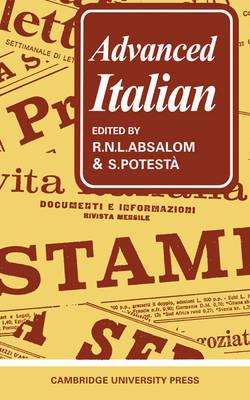 Advanced Italian (Paperback)