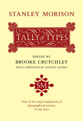A Tally of Types (Paperback)