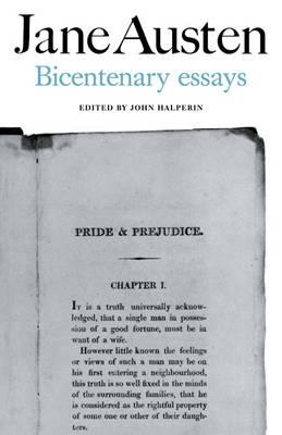 Jane Austen: Bicentenary Essays (Paperback)