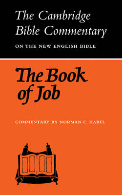 The Book of Job - Cambridge Bible Commentaries: Old Testament 32 Volume Set (Paperback)