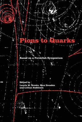 Pions to Quarks: Particle Physics in the 1950s (Paperback)