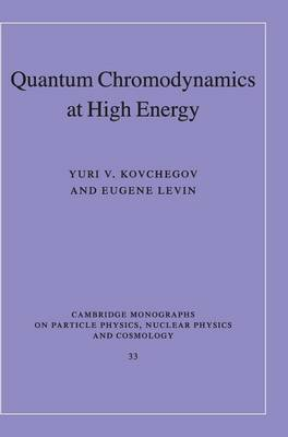 Quantum Chromodynamics at High Energy - Cambridge Monographs on Particle Physics, Nuclear Physics and Cosmology 33 (Hardback)