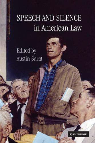 Speech and Silence in American Law (Hardback)