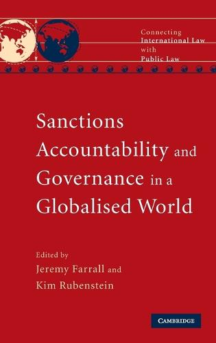 Connecting International Law with Public Law: Sanctions, Accountability and Governance in a Globalised World (Hardback)