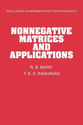 Nonnegative Matrices and Applications - Encyclopedia of Mathematics and its Applications (Paperback)