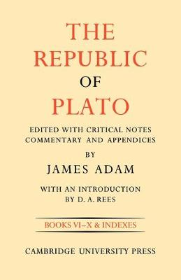 The Republic of Plato - The Republic of Plato 2 Volume Paperback Set (Paperback)