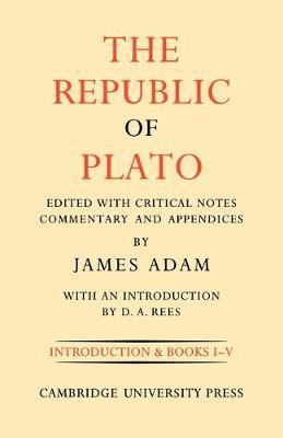 The The Republic of Plato: Volume 1, Books I-V: The Republic of Plato v. 1 - The Republic of Plato 2 Volume Paperback Set (Paperback)