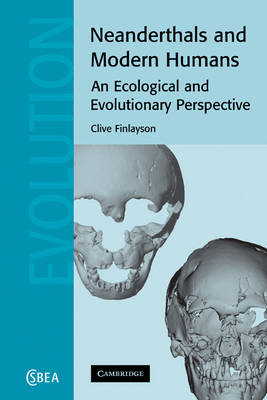 Neanderthals and Modern Humans: An Ecological and Evolutionary Perspective - Cambridge Studies in Biological and Evolutionary Anthropology 38 (Paperback)