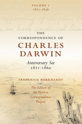 The Correspondence of Charles Darwin: The Correspondence of Charles Darwin 8 Volume Paperback Set: 1821-1860 (Paperback)