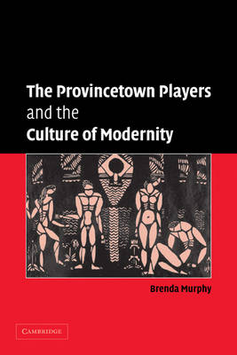 The Provincetown Players and the Culture of Modernity - Cambridge Studies in American Theatre and Drama (Paperback)