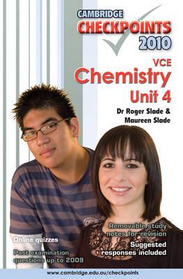 Cambridge Checkpoints VCE Chemistry Unit 4 2010 - Cambridge Checkpoints (Paperback)
