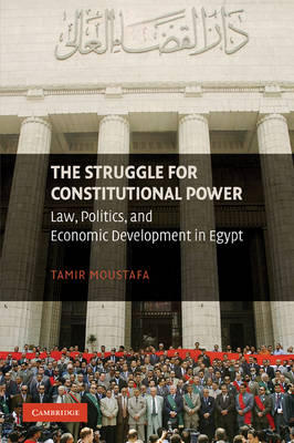 The Struggle for Constitutional Power: Law, Politics, and Economic Development in Egypt (Paperback)
