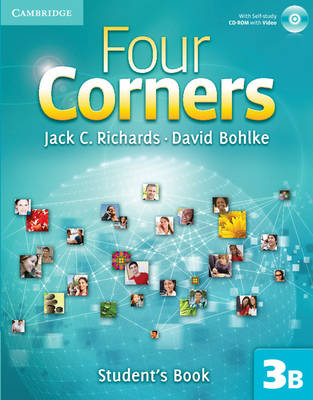 Four Corners Level 3 Student's Book B with Self-study CD-ROM - Four Corners Level 3 Full Contact B with Self-study CD-ROM