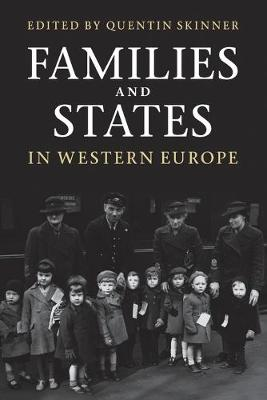 Families and States in Western Europe (Paperback)