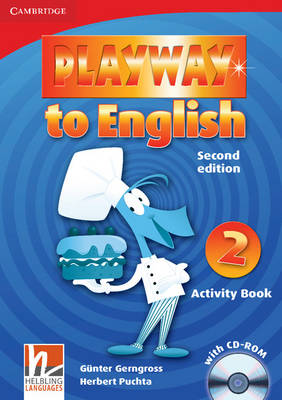 Playway to English Level 2 Activity Book with CD-ROM