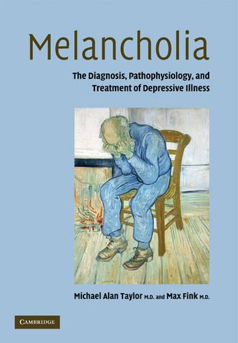 Melancholia: The Diagnosis, Pathophysiology and Treatment of Depressive Illness (Paperback)