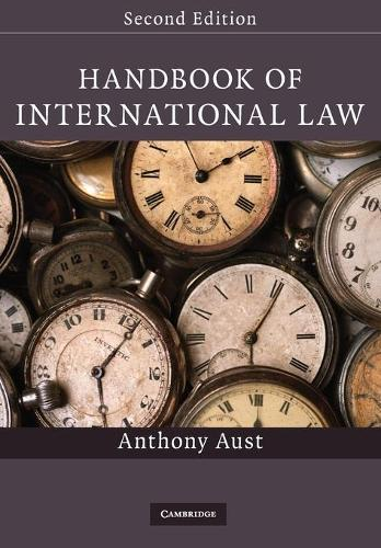 Handbook of International Law (Paperback)