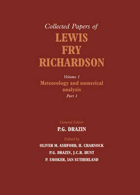 The The Collected Papers of Lewis Fry Richardson 2 Volume Paperback Set The Collected Papers of Lewis Fry Richardson 2 Part Paperback Set: Volume 1 (Paperback)
